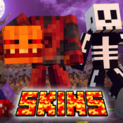 Halloween Skins for Minecraft PE & PC Edition Free logo