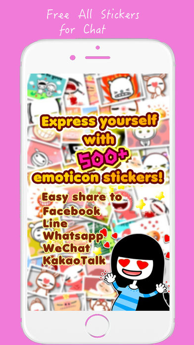Sticker for chat, Free stickers for Zalo, WhatsApp, Viber