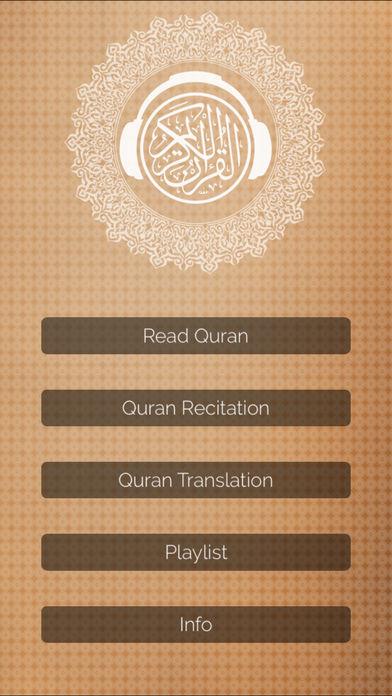 Quran Mp3 : Translations, Recitations, Reading alternatives