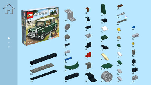 Iveco Truck for LEGO Creator 10242 Set - Building Instructions