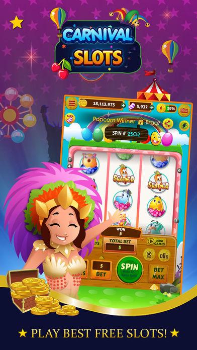 Slot machine carnevale